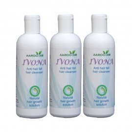 Ivona Anti Hair Fall Hair Cleanser Pack of 3