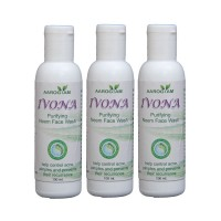 Aarogyam Ivona NEEM Face Wash Pack of 3
