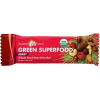 Amazing Grass Organic Green Superfood Berry Energy Bar, 60-Gram bars (Pack of 12)