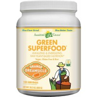 Amazing Grass Green Superfood Orange Dreamsicle, 100 Servings, 28.2 Ounces (800 gm)