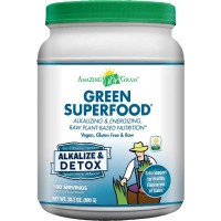 Amazing Grass Green SuperFood Alkalize & Detox, 100 Servings, 28.2 Ounces (800 gm)