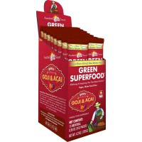 Amazing Grass Green SuperFood Berry, Box of 15 Individual Servings, 0.28 Ounces