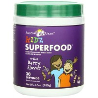 Amazing Grass Kidz Superfood 30 Servings, Berry, 6.5-Ounce (180 gm)