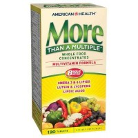 American Health More Than A Multiple Multivitamins 120 Tablets