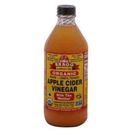 Bragg Organic Raw Unfiltered Apple Cider Vinegar 16 oz (473 ml)