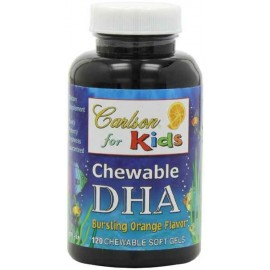 Carlson Labs Carlson For KIDS CHEWABLE DHA Orange, 120 Softgels