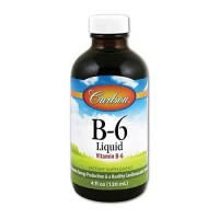 Carlson Labs Vitamin B-6 Liquid, 4 Ounces (120 ml)
