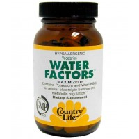 Country Life WATER FACTORS 90 Capsules - Metabolic Regulation