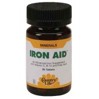 Country Life IRON AID 60 Tablets