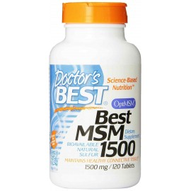 Doctor's Best Best MSM 1500 mg 120 Tablets - Joints
