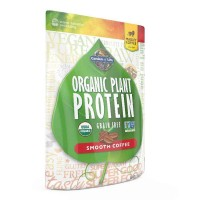 Garden of Life Organic PLANT PROTEIN, Smooth Coffee, 260 Gram