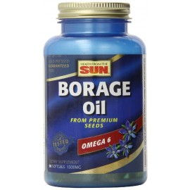 Health From The Sun Borage Oil, 60 Softgels