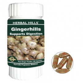 Herbal Hills GINGERHILLS Digestion Support Capsules (60)