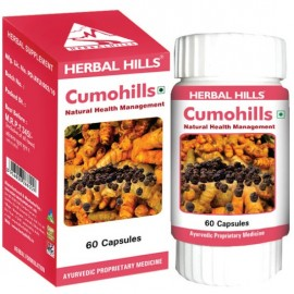 Herbal Hills CUMOHILLS Capsules (60) for Healthy Hair