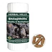 Herbal Hills SHILAJITHILLS Vitality Revitaliser Capsules (60)
