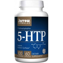 Jarrow Formulas 5-HTP 100mg, 60 Capsules - Anxiety, Sleep