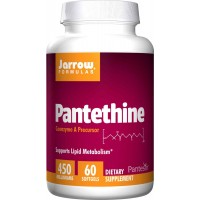 Jarrow Formulas Pantethine (Vitamin B5) 450mg, 60 Softgels - Supports Lipid Metabolism