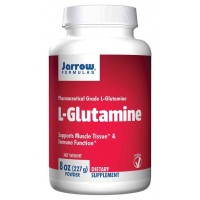 Jarrow Formulas L-Glutamine Powder 227 gm - Supports Muscle Tissue, Immune Function
