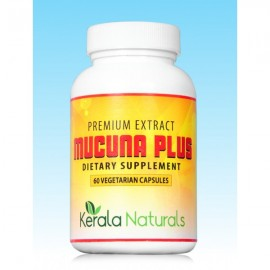 Kerala Naturals MUCUNA PLUS Caps - Stress Relief & Energy Support