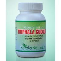 Kerala Naturals TRIPHALA GUGGULU Veg Capsules (60)