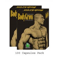 Mahaved BODY GROW Capsules (100) - Weight Gain, Appetizer, Immunity Booster