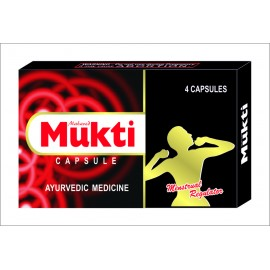 MUKTI Capsules for menstrual regulation
