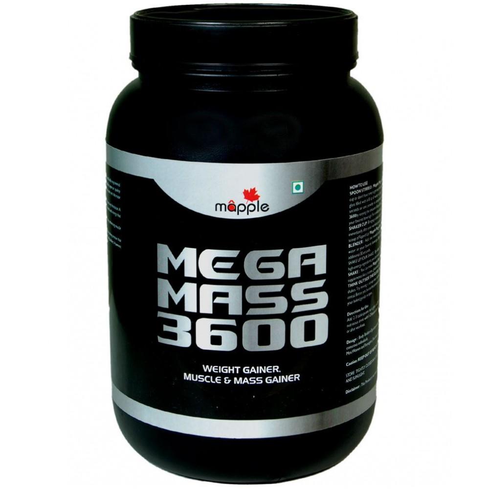 Buy Mapple Mega Mass 3600 Protein Supplement 600g Buy