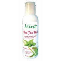 Hawaiian Herbal, Hawaii, USA - Mint Face Wash 100 ml Bottle