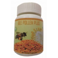 Hawaiian Herbal, Hawaii, USA – Bee Pollen Plus Capsules