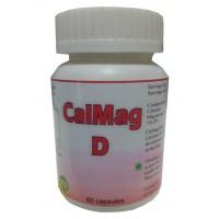 Hawaiian Herbal, Hawaii, USA – Cal Mag D Capsules - Calcium, Magnesium & Vitamin D Supplement