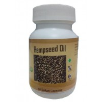 Hawaiian Herbal, Hawaii, USA -  Hempseed Oil Capsules