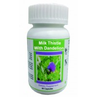 Hawaiian Herbal, Hawaii, USA - Milk Thistle And Dandelion Capsules