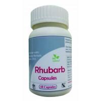 Hawaiian Herbal, Hawaii, USA - Rhubarb Herb Capsules