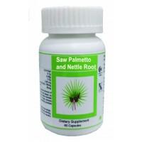 Hawaiian Herbal, Hawaii, USA - Saw Palmetto And Nettle Root Capsules