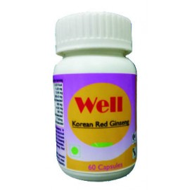 Hawaiian Herbal, Hawaii, USA - Well Korean Red Ginseng Capsules - Antioxidants