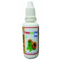 Hawaiian Herbal, Hawaii, USA - Papaya Leaves Extract Drops 30 ml