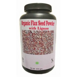 Hawaiian Herbal, Hawaii, USA - Organic Flax Seed Powder 200 gm Bottle