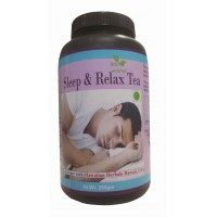 Hawaiian Herbal, Hawaii, USA - Sleep Relax Tea 250 gm Bottle
