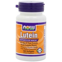 NOW Foods Lutein Esters 10mg Softgels (120) - Eye Health