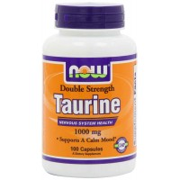 Now Foods TAURINE 1000 mg Capsules (100) - Nervous System Health