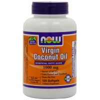 NOW Foods Virgin Coconut Oil 1000 mg Softgels (120) - Essential Fatty Acids