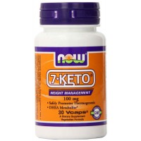 NOW Foods 7-Keto 100mg, 30 Vcaps - Weight Management