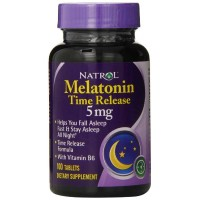 Natrol MELATONIN Timed Release 5mg, 100 tablets - Sleep Aid