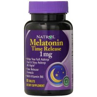 Natrol MELATONIN 1mg Timed Release 90 Tablets - Sleep Aid