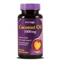 Natrol COCONUT OIL 1000 mg 45 Sofgels