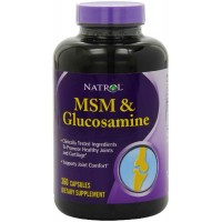 Natrol MSM & Glucosamine 360 Capsules - Joints Health