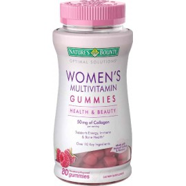 Nature's Bounty Optimal Solutions Women's MULTIVITAMIN Gummies, 80 Count