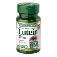 Nature's Bounty LUTEIN 20 mg, 30 Softgels (Pack of 2)- Eye Health