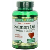 Nature's Bounty SALMON OIL 1000mg, 120 Softgels