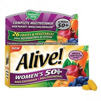 Alive! Women's 50+ Multivitamin & Multimineral (50 Tablets)